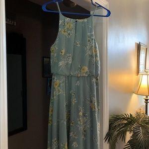Juniors Girls Blue Rain Dress- Medium